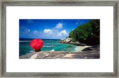 Indian Ocean Moyenne Island Seychelles Framed Print by Panoramic Images