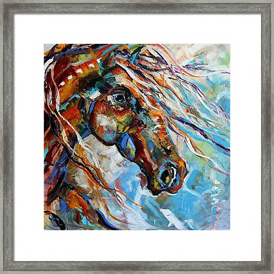 Indian Paint Pony Framed Print