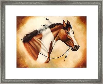 Indian Pony Framed Print by Kay Sparks