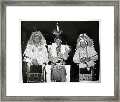 Indian Pride Framed Print by Don R Varney