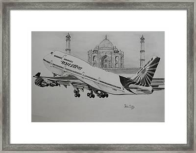 Indian Queen  Framed Print