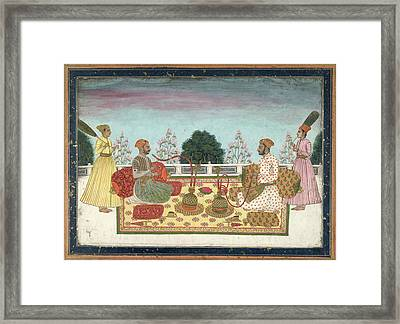 Indian Rajas Framed Print by British Library