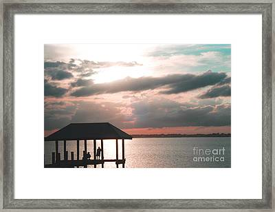 Framed Print featuring the photograph Indian River Lagoon by Megan Dirsa-DuBois