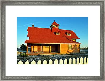 Indian River Lifesaving Station Museum Framed Print