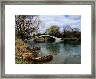 Indian River Framed Print