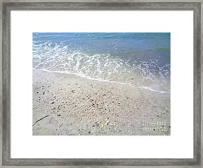 Indian Rocks Shoreline Framed Print
