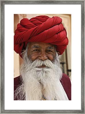 Indian Santa Claus? Framed Print