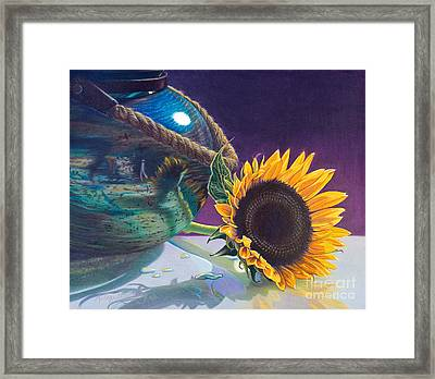 Indian Summer Framed Print by Arlene Steinberg