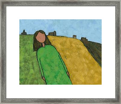 Indian Summer Framed Print by David Dossett