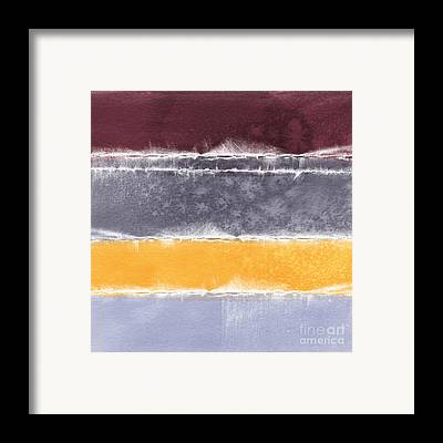 Autumn Abstract Framed Prints