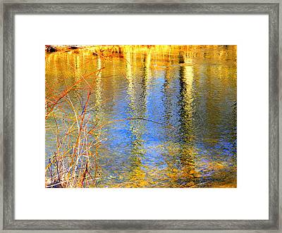Indian Summer Framed Print by Mary Beth Landis