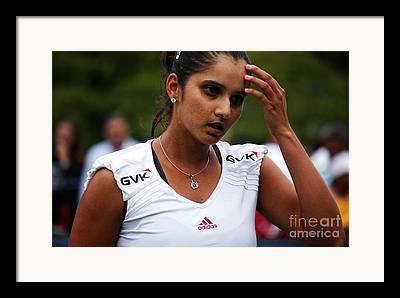Womens Tennis Photographs Framed Prints
