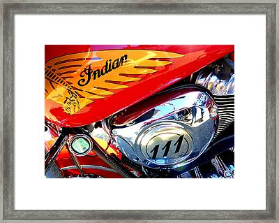 Indian Framed Print by The Creative Minds Art and Photography