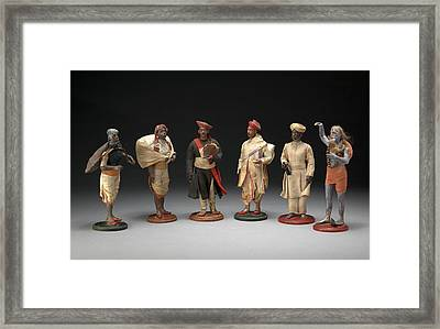 Indian Trades And Occupations A Group Of Six Bengali Framed Print by Litz Collection