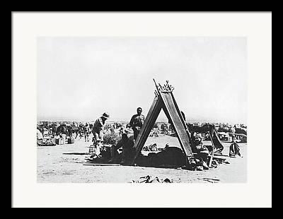 World War Three. Iraq Framed Prints