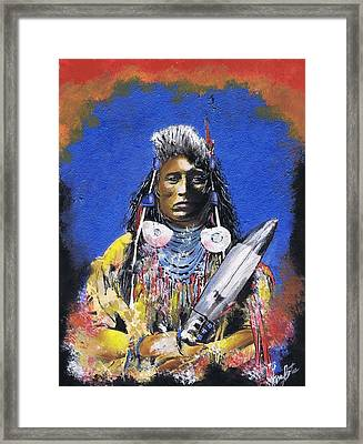 Indian Warrior 1 Framed Print