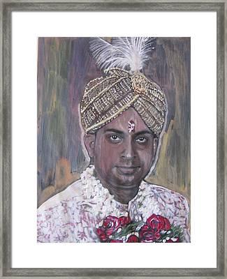 Indian Wedding Framed Print