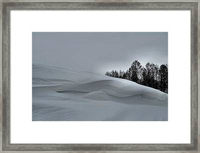 Indiana Drifter Framed Print by Julie Dant