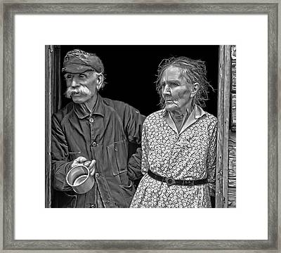 Indiana Farmers - 1935 Framed Print