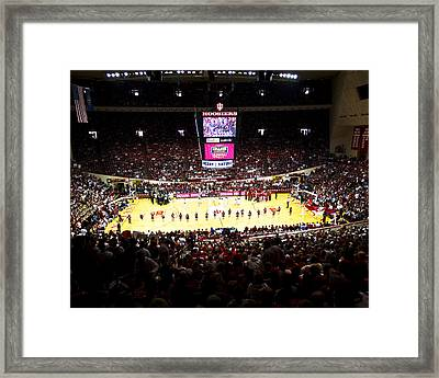 Indiana Hoosiers Assembly Hall Framed Print