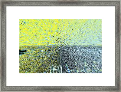 Indiana Horizon Framed Print by Alys Caviness-Gober
