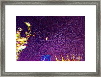 Indiana Nights Framed Print by Alys Caviness-Gober
