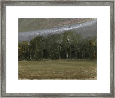 Framed Print featuring the painting Indiana Sky by John Reynolds