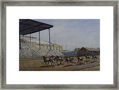 Indiana State Fair Framed Print by Clifford Cox