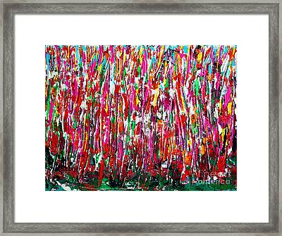 Indiana Summer Framed Print by Alys Caviness-Gober