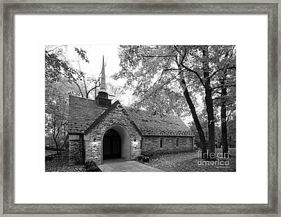 Indiana University Beck Chapel Framed Print by University Icons