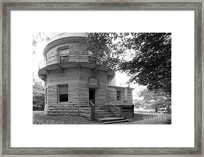 Indiana University Kirkwood Observatory Framed Print by University Icons