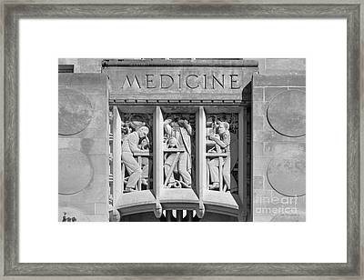Indiana University Myers Hall Medicine Framed Print