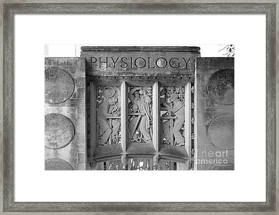Indiana University Myers Hall Physiology Framed Print