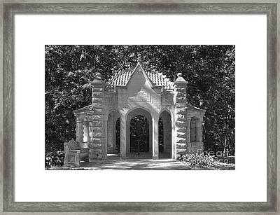 Indiana University Rose Well House Framed Print by University Icons