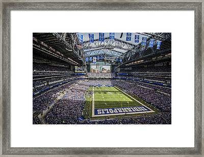 Indianapolis Colts Lucas Oil Stadium 3143 Framed Print
