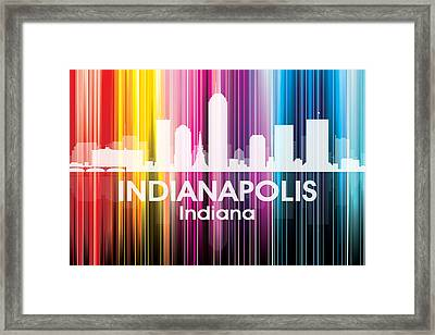 Indianapolis In 2 Framed Print