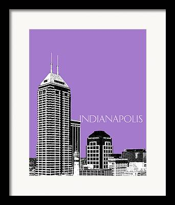 Indiana Art Framed Prints