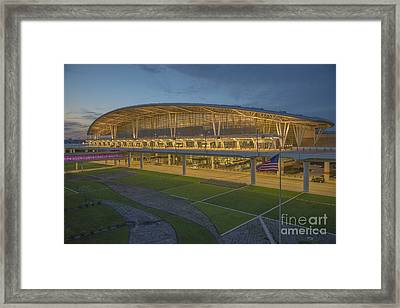 Indianapolis International Airport Framed Print by David Haskett