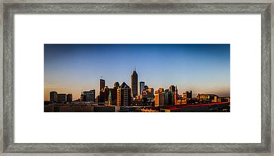 Indianapolis Skyline - South Framed Print