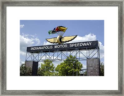 Indianapolis Speedway Framed Print