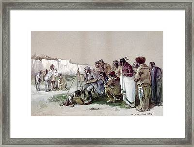 Indians Portrait Painting Framed Print