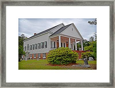 Framed Print featuring the photograph Indiantown Presbyterian Church by Linda Brown
