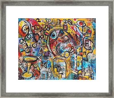 Indifferent  Framed Print by Jon Baldwin  Art