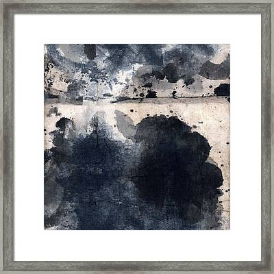 Indigo Clouds 4 Framed Print