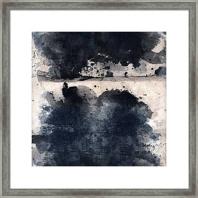 Indigo Clouds 5 Framed Print