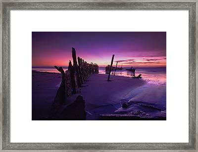 Indigo Dawn Framed Print