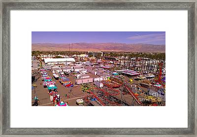 Indio Fair Grounds Framed Print by Chris Tarpening