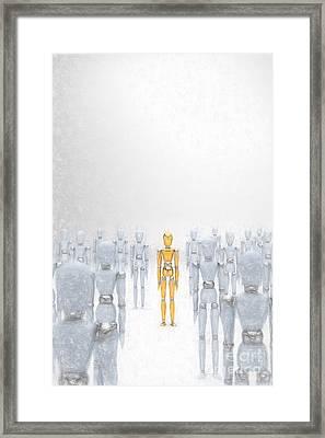 Individuality 2 Framed Print by Carsten Reisinger