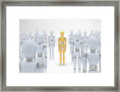 Individuality Framed Print by Carsten Reisinger