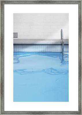 Indoor Swimming Pool Detail Toronto Framed Print by Bruno Crescia